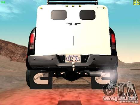 Dodge Ram 3500 Unmarked for GTA San Andreas right view