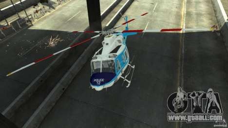 NYPD Bell 412 EP for GTA 4 inner view