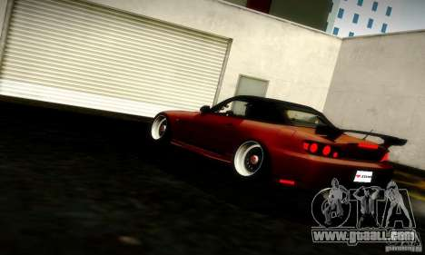 Honda S2000 JDM Tuning for GTA San Andreas left view