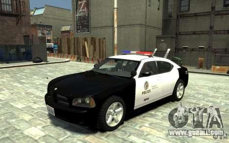 Dodge Charger LAPD V1.6 for GTA 4
