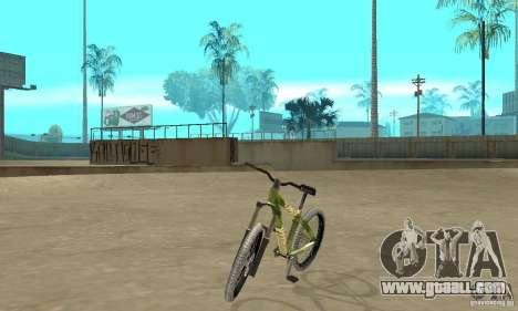 Hardy 3 Dirt Bike for GTA San Andreas
