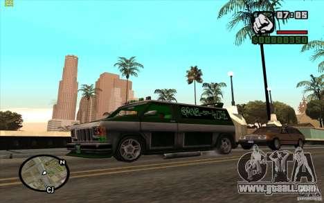Grove Street Gang Burrito for GTA San Andreas