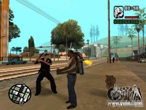 Animals in Los Santos for GTA San Andreas forth screenshot