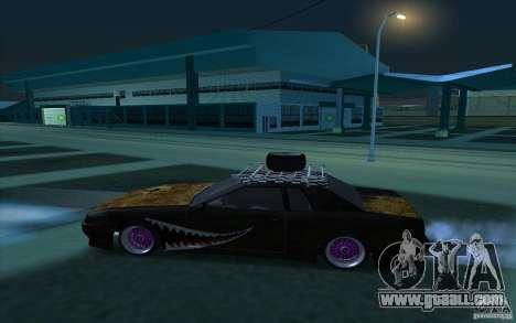 Elegy Rat by Kalpak v1 for GTA San Andreas left view