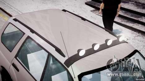 Subaru Forester v2.0 for GTA 4 interior