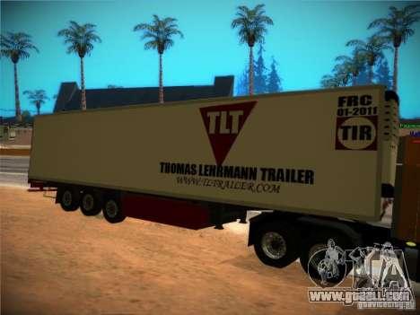 Refrigerator trailer for GTA San Andreas