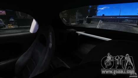 Mazda RX-7 FnF for GTA 4 inner view
