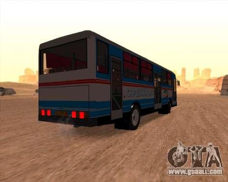 Autosan H10-11B Orenburg for GTA San Andreas right view