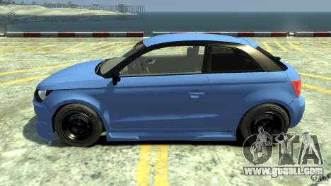 Audi A1 for GTA 4 left view