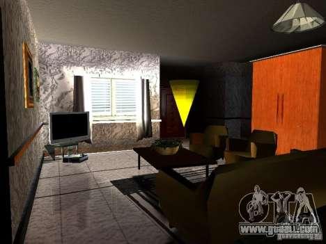 New TV for GTA San Andreas forth screenshot