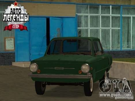 ZAZ 968 Drain for GTA San Andreas