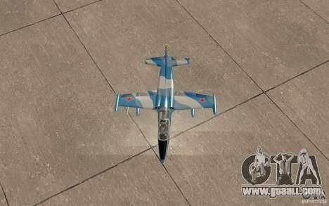 L-39 Albatross for GTA San Andreas side view