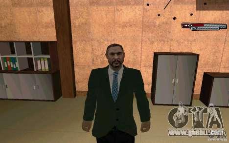 Mayor HD for GTA San Andreas