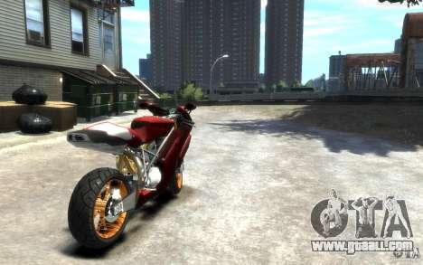 Ducati 999R for GTA 4 back left view