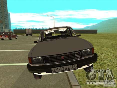 GAZ Volga 31022 for GTA San Andreas back left view