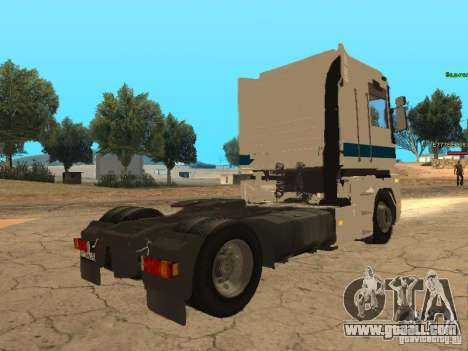 Renault Magnum Sommer Container for GTA San Andreas upper view