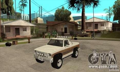 Ford Ranger for GTA San Andreas