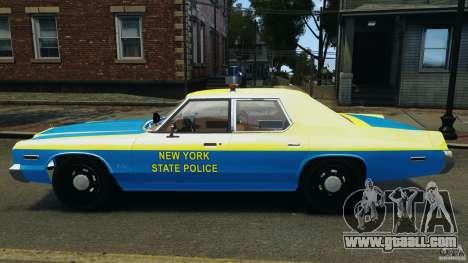 Dodge Monaco 1974 Police v1.0 [ELS] for GTA 4 left view