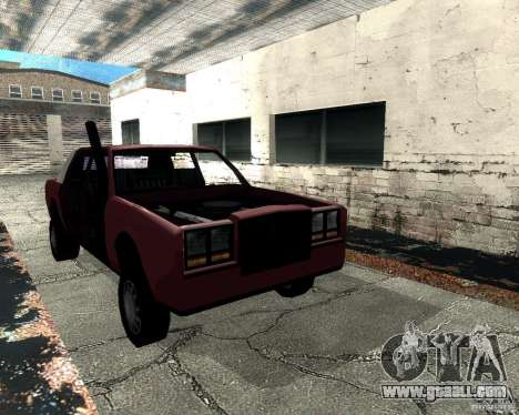 Derby Greenwood Killer for GTA San Andreas back view