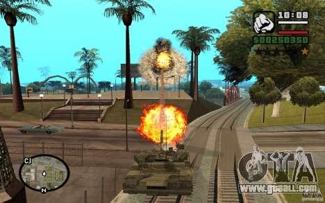 Hydra, Panzer mod for GTA San Andreas