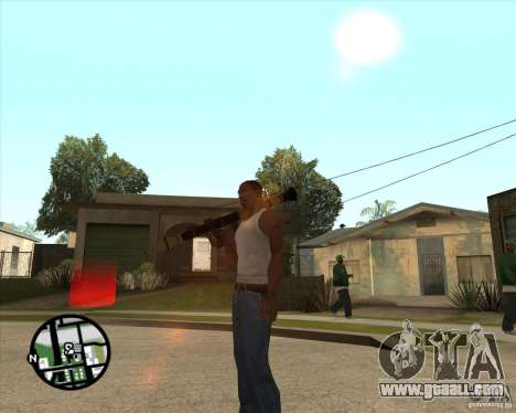 RiCkys Rocket Launcher for GTA San Andreas third screenshot