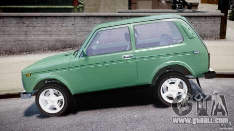 Vaz-21214 Niva (Lada 4 x 4) for GTA 4 back view