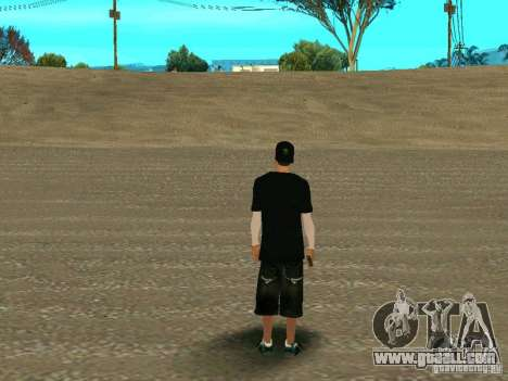 New wmybmx for GTA San Andreas second screenshot