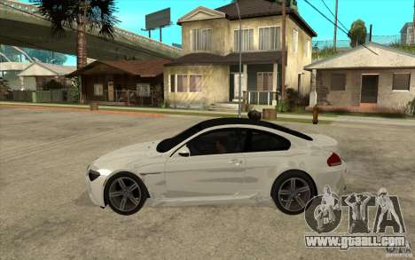 BMW M6 Coupe V 2010 for GTA San Andreas left view