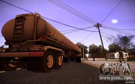 Trailer Kenworth T600 for GTA San Andreas right view