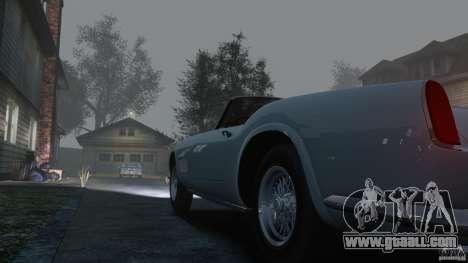 Ferrari 250 California 1957 for GTA 4 inner view