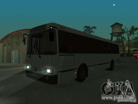 LAZ 52528 for GTA San Andreas back left view