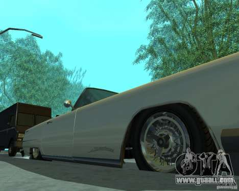 Peyote from GTA 4 for GTA San Andreas back view