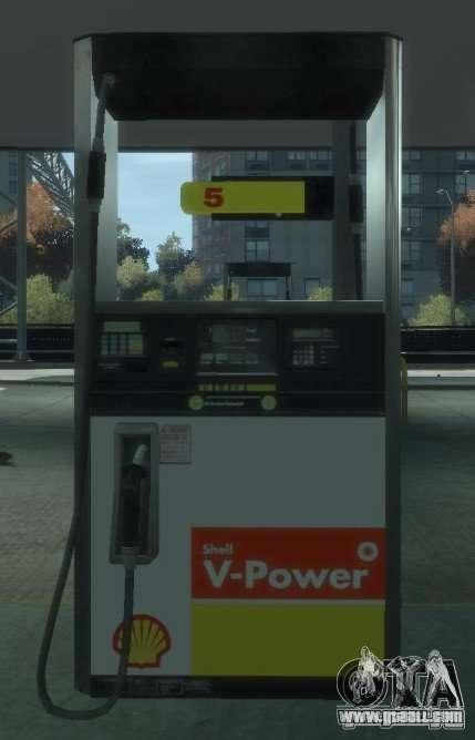 Shell Petrol Station V2 Updated for GTA 4 seventh screenshot