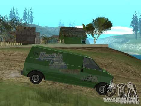 Burrito from GTA 4 for GTA San Andreas left view