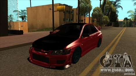 Mitsubishi Lancer Evo 8 Street Drift for GTA San Andreas