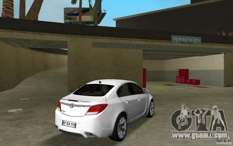 Opel Insignia for GTA Vice City right view