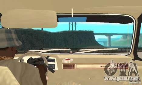 Chevrolet Blazer K5 Monster Skin 1 for GTA San Andreas right view