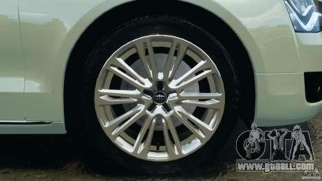 Audi A8 Limo v1.2 for GTA 4 interior