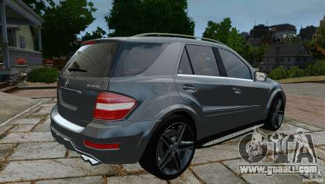 Mercedes-Benz ML63 AMG for GTA 4 left view