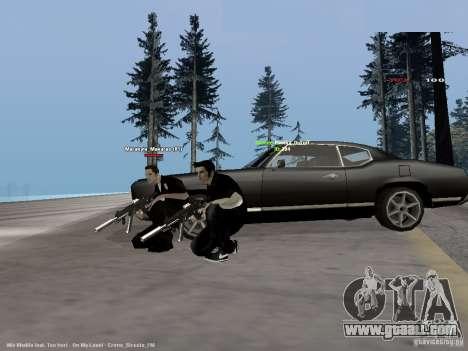 Black & White guns for GTA San Andreas second screenshot
