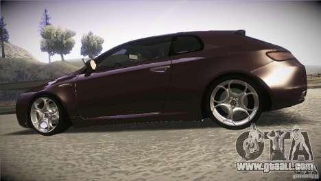 Alfa Romeo Brera Ti for GTA San Andreas left view