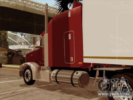 Peterbilt 377 for GTA San Andreas back view