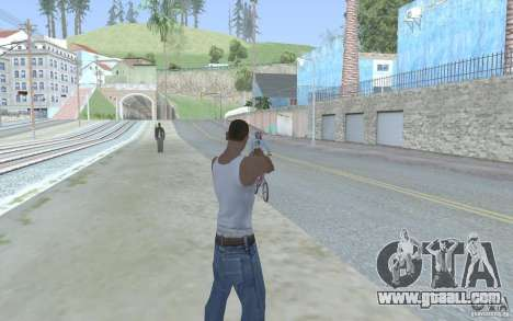 Blue sight for GTA San Andreas forth screenshot
