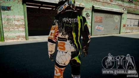Ken Block Gymkhana 5 Clothes (Unofficial DC) for GTA 4 ninth screenshot