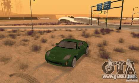 Nissan 350Z stock for GTA San Andreas