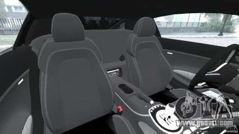 Audi R8 V10 2010 for GTA 4 inner view