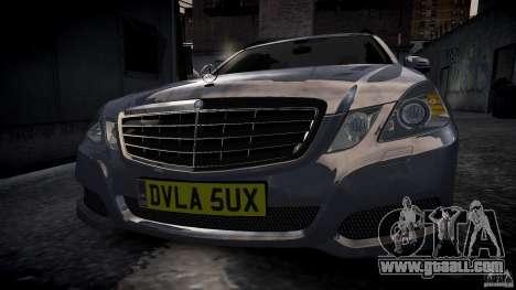 Mercedes E-Class wagon for GTA 4 back left view