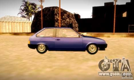VAZ 2108 v2.0 for GTA San Andreas side view