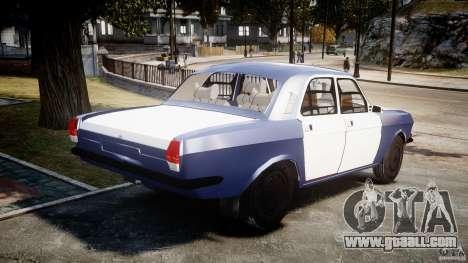 Gaz-2410 Volga 1989 v2.1 for GTA 4 side view