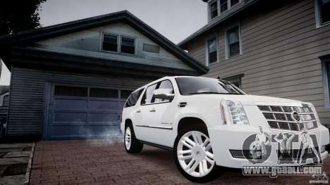 Cadillac Escalade ESV for GTA 4